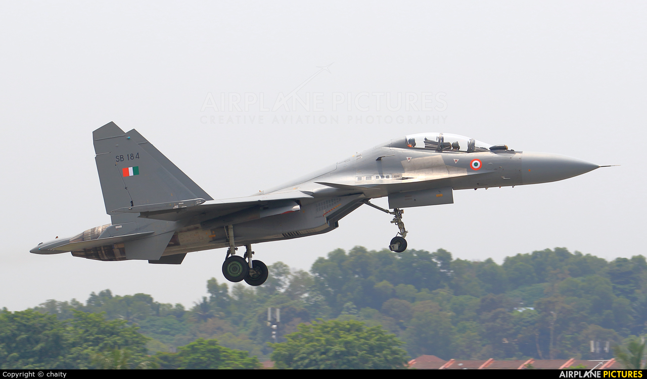 India - Air Force SB184 aircraft at Subang - Sultan Abdul Aziz Shah