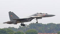 SB184 - India - Air Force Sukhoi Su-30MKI aircraft