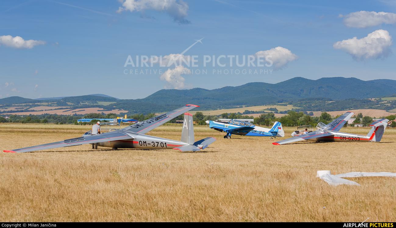 Aeroklub Trenčín OM-3701 aircraft at Trenčín