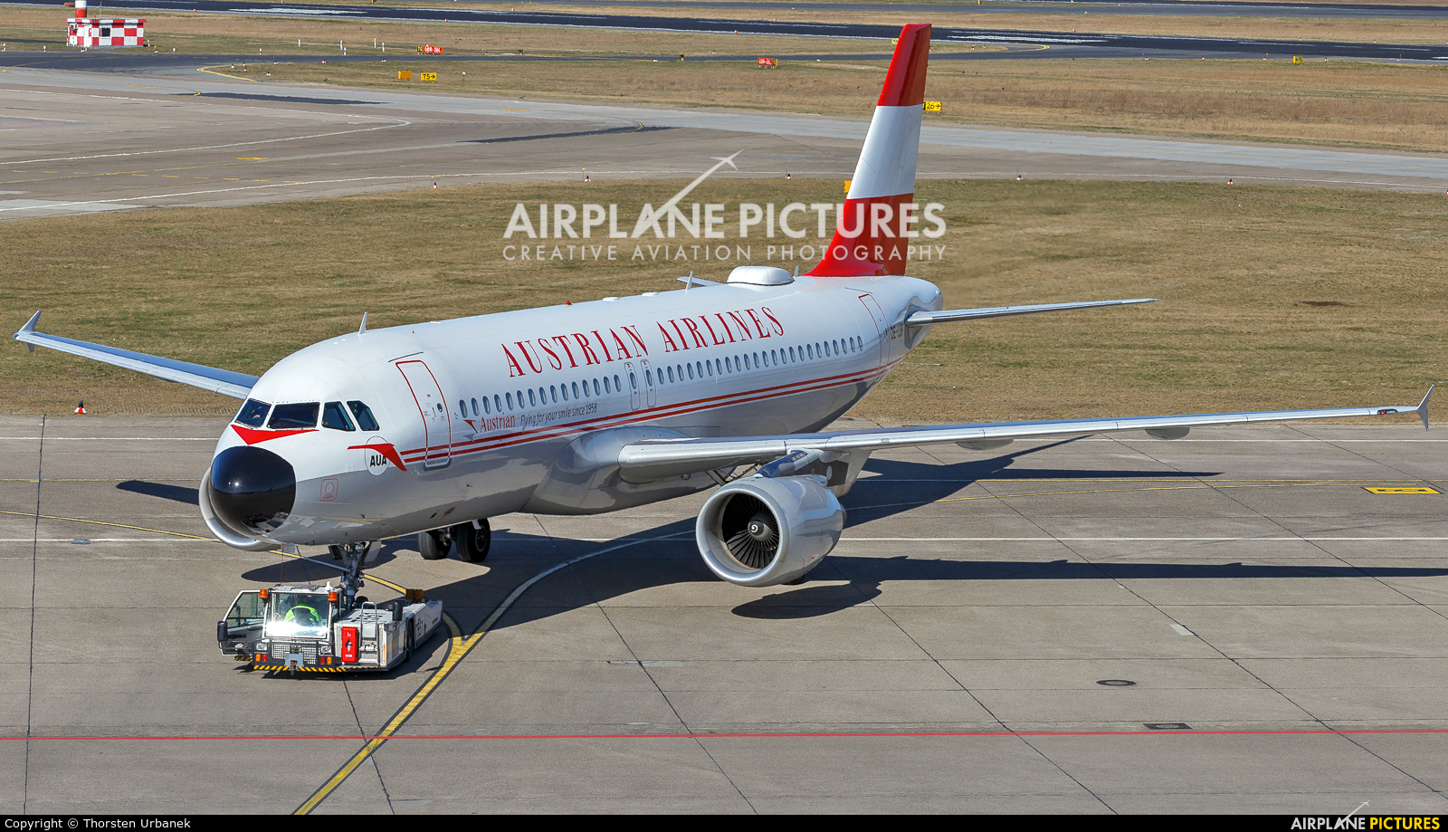 Austrian Airlines/Arrows/Tyrolean OE-LBP aircraft at Berlin - Tegel