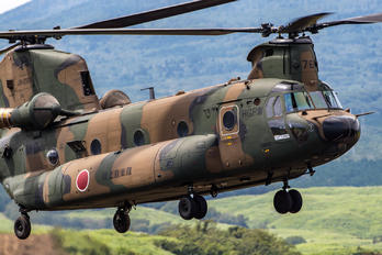 JG-2976 - Japan - Ground Self Defense Force Kawasaki CH-47J Chinook