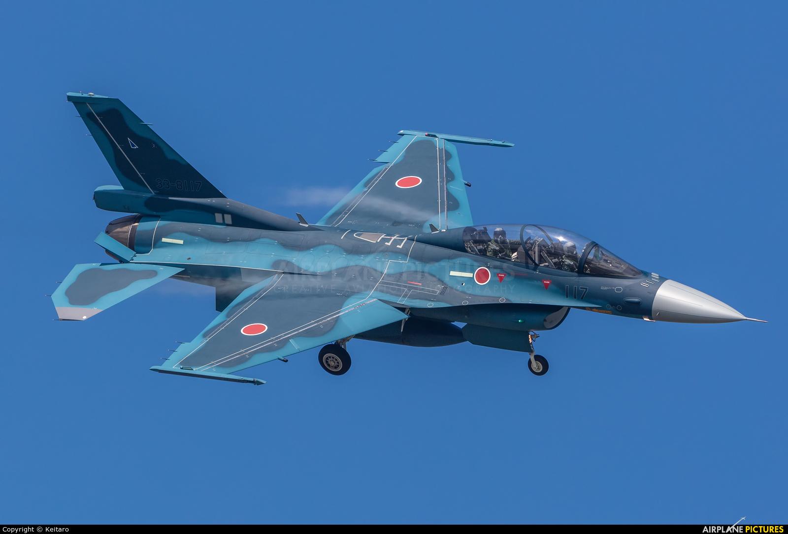 Japan - Air Self Defence Force 33-8117 aircraft at Matsushima AB