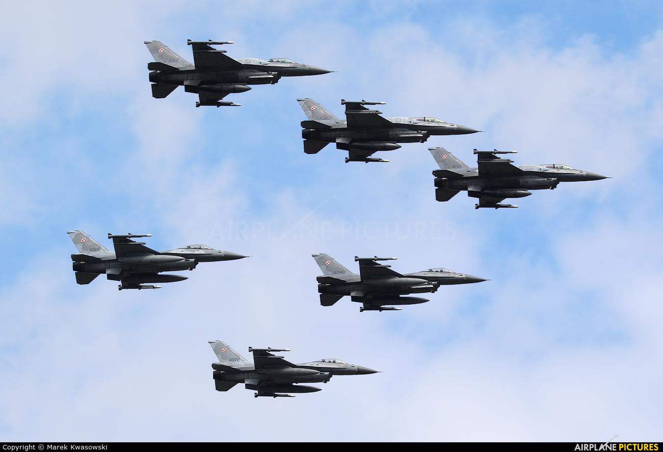 Poland - Air Force 4081 aircraft at Warsaw - Off Airport