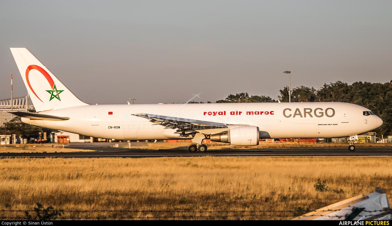 Royal Air Maroc Cargo CN-ROW aircraft at Frankfurt