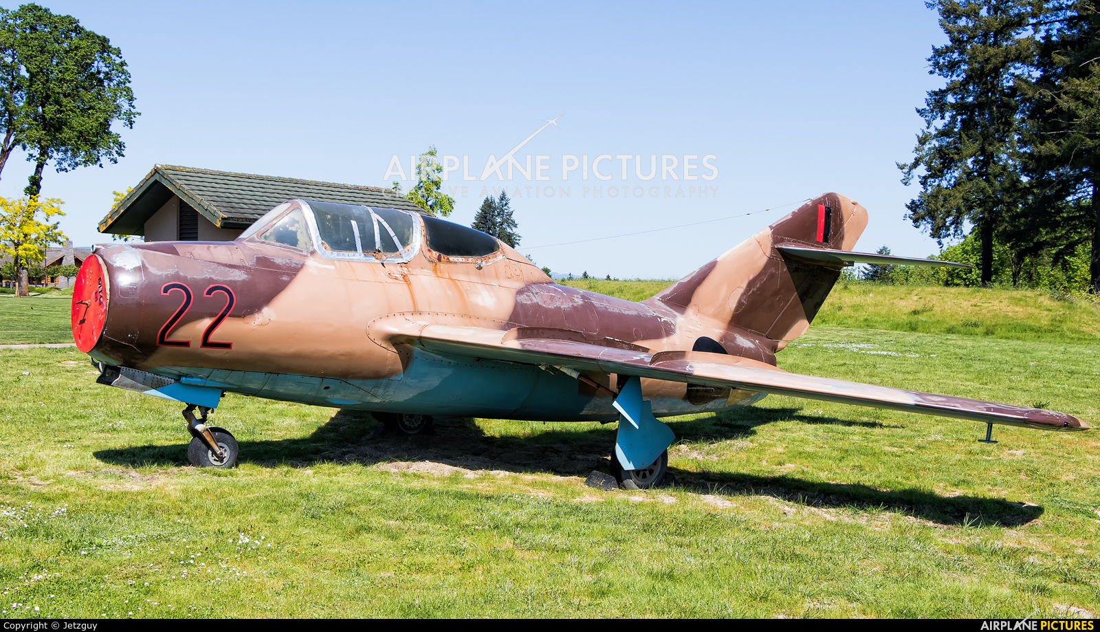 China - Air Force 22 aircraft at McMinnville - Evergreen Aviation & Space Museum