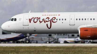 C-FJQL - Air Canada Rouge Airbus A321