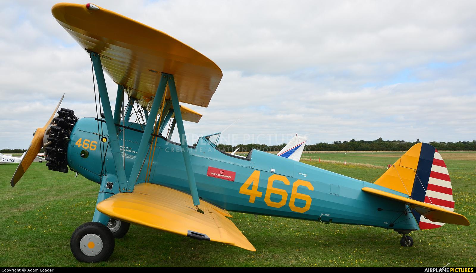 Private G-PTBA aircraft at Turweston