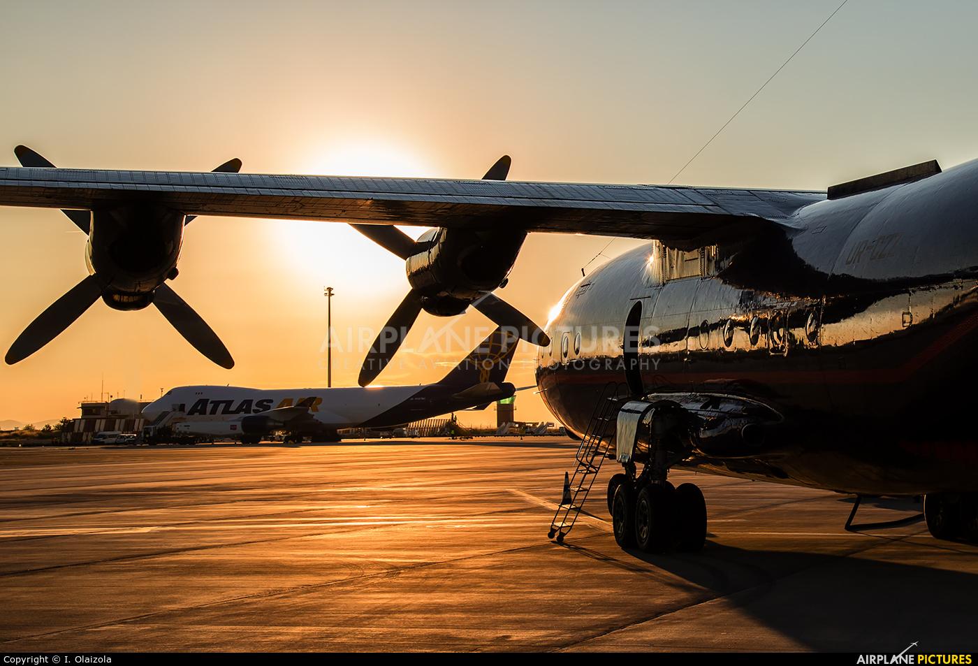Ukraine Air Alliance UR-CZZ aircraft at Zaragoza
