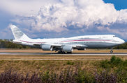 Rare visit of Qatar Amiri Boeing 747-8 to Basel title=