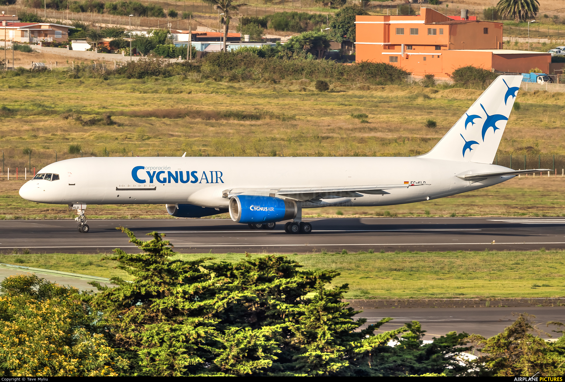 Cygnus Air EC-KLD aircraft at Tenerife Norte - Los Rodeos