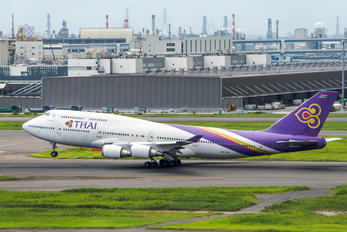 HS-TGO - Thai Airways Boeing 747-400