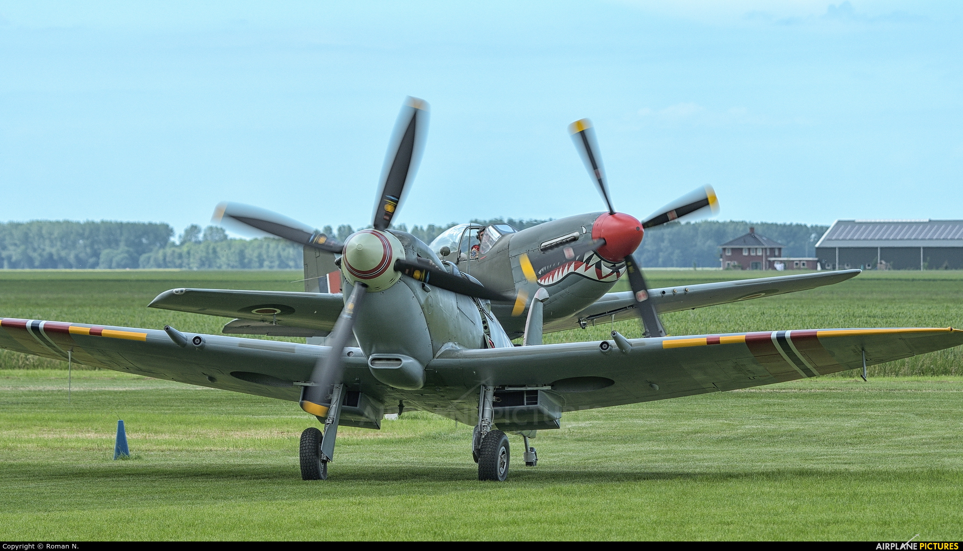 Norwegian Spitfire Foundation PV-181 aircraft at Oostwold