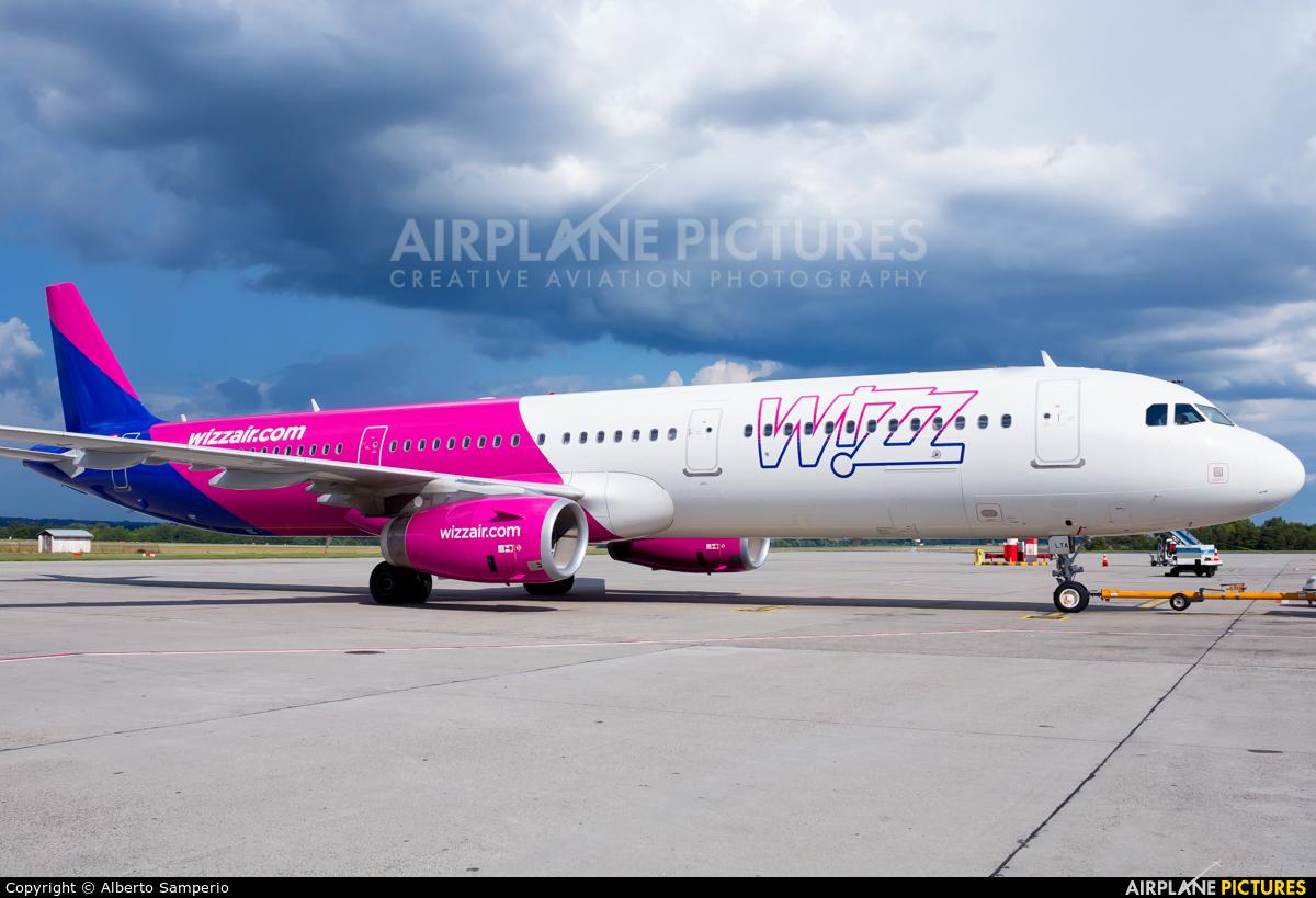 Wizz Air HA-LTA aircraft at Budapest Ferenc Liszt International Airport