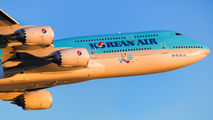 HL7636 - Korean Air Boeing 747-8 aircraft