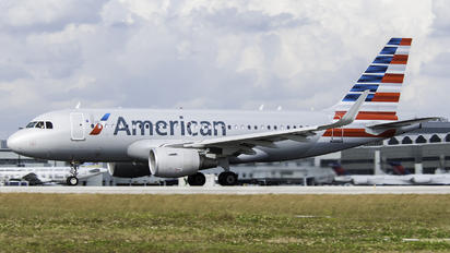 N9011P - American Airlines Airbus A319