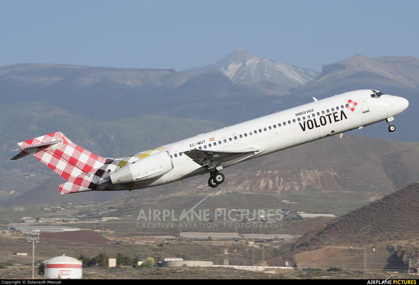 Volotea Airlines EC-MGT aircraft at Tenerife Sur - Reina Sofia