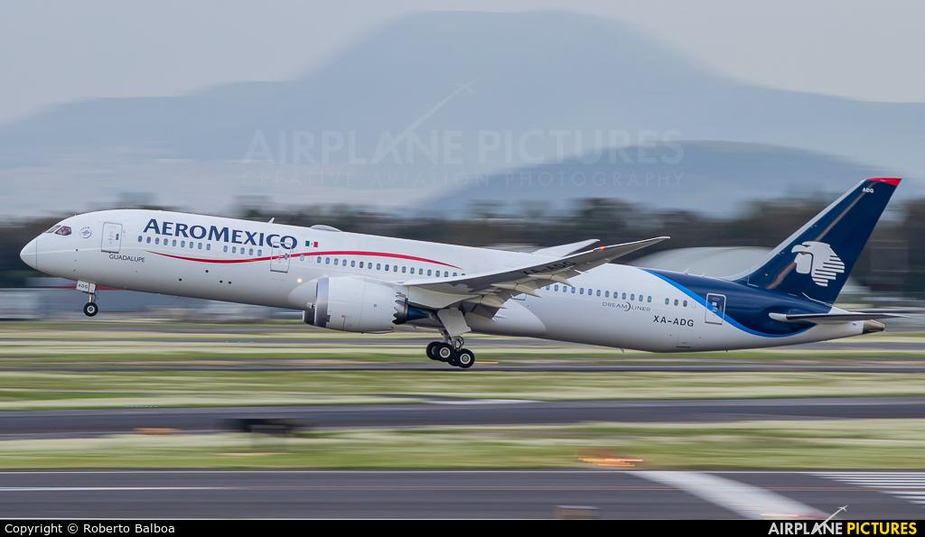 Aeromexico XA-ADG aircraft at