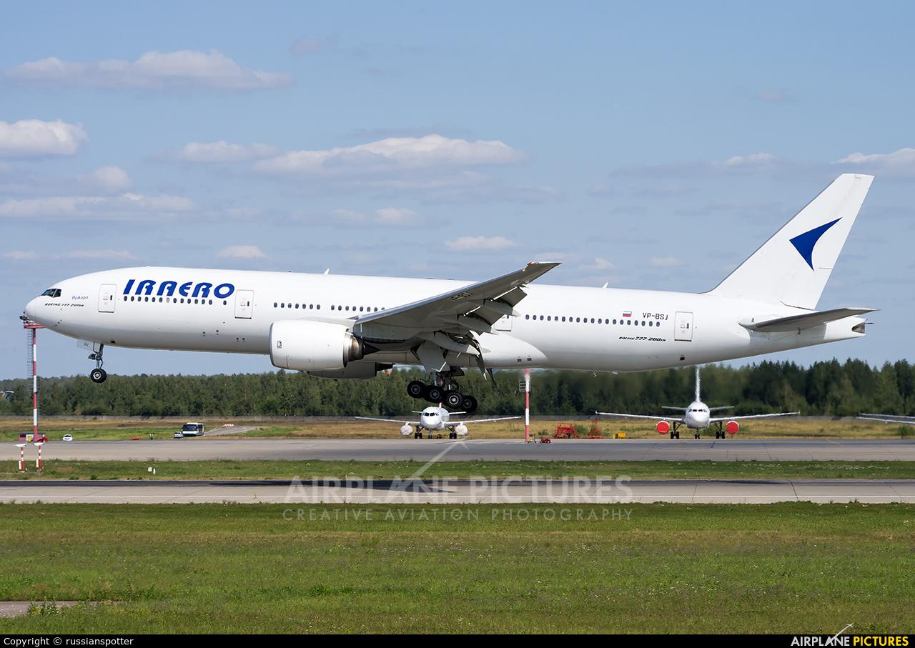 Iraero VP-BSJ aircraft at Moscow - Domodedovo