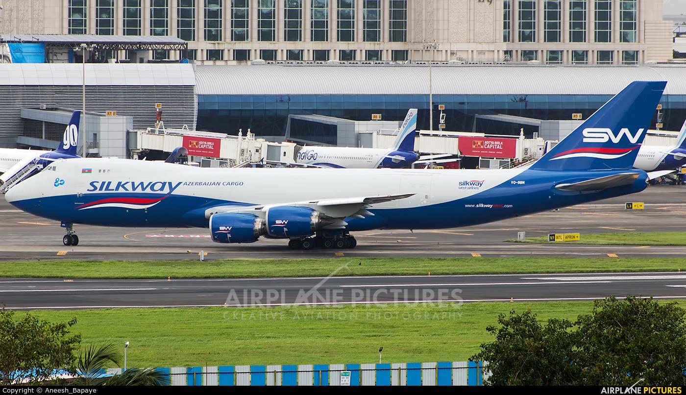Silk Way Airlines VQ-BBM aircraft at Mumbai - Chhatrapati Shivaji Intl