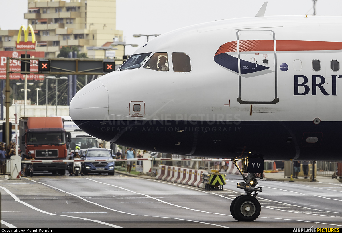 British Airways G-EUYV aircraft at Undisclosed Location