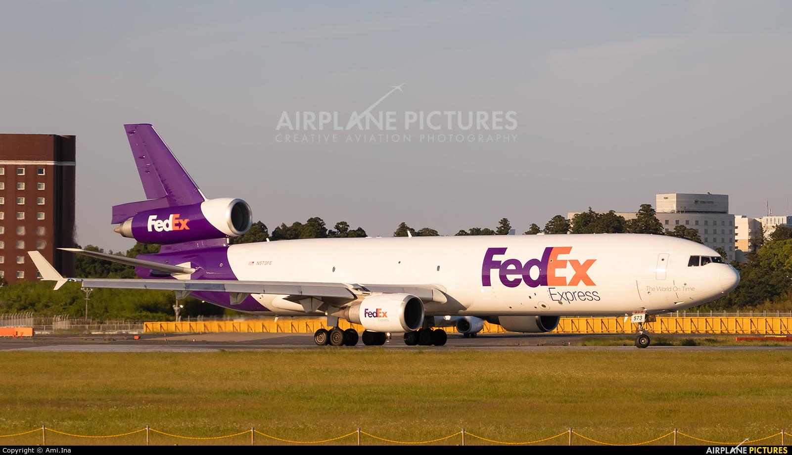 FedEx Federal Express N624FE aircraft at Tokyo - Narita Intl