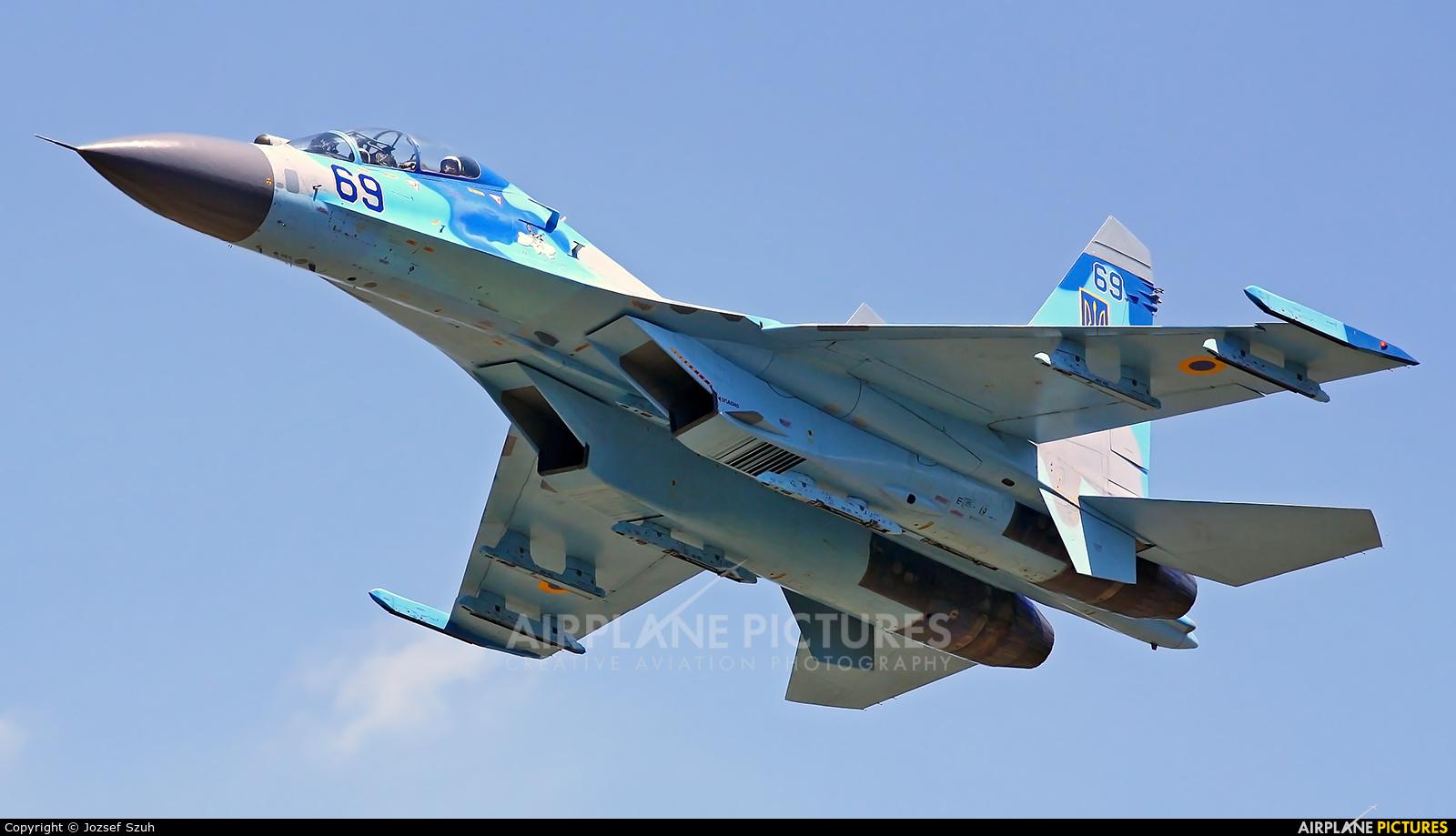 Ukraine - Air Force 69 aircraft at Kecskemét