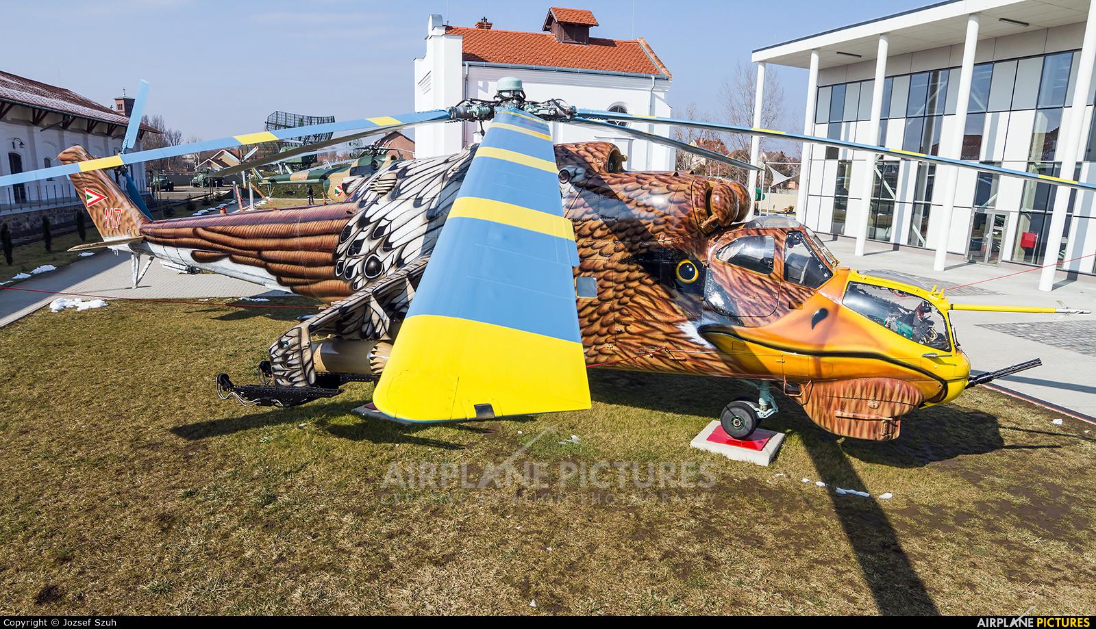 Hungary - Air Force 117 aircraft at Szolnok