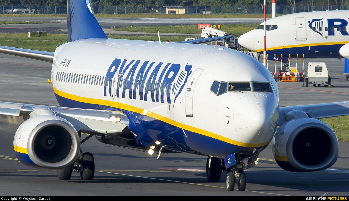 Ryanair Sun EI-FEI aircraft at Warsaw - Frederic Chopin