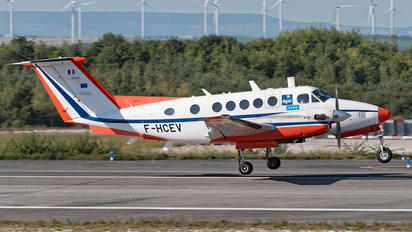 F-HCEV - France - DGAC Beechcraft 200 King Air
