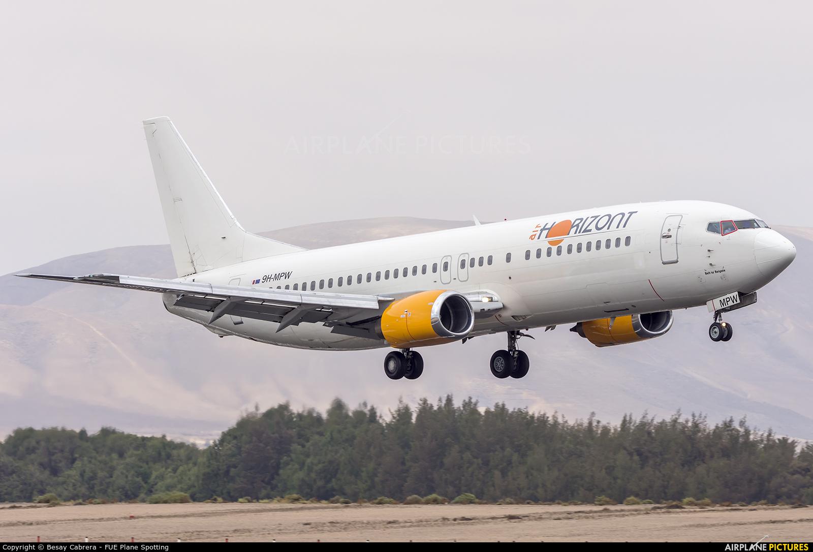 Air Horizont 9H-MPW aircraft at Fuerteventura - Puerto del Rosario