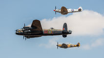 "PA474 - Royal Air Force ""Battle of Britain Memorial Flight&quot Avro 683 Lancaster B. I aircraft"