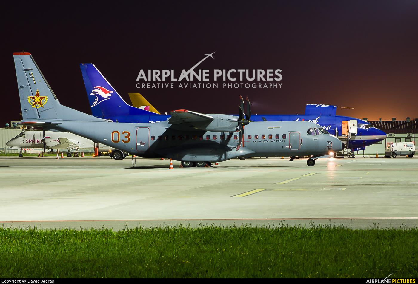 Kazakhstan - Air Force 03 aircraft at Warsaw - Frederic Chopin