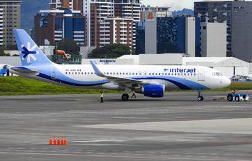 XA-LHG - Interjet Airbus A320