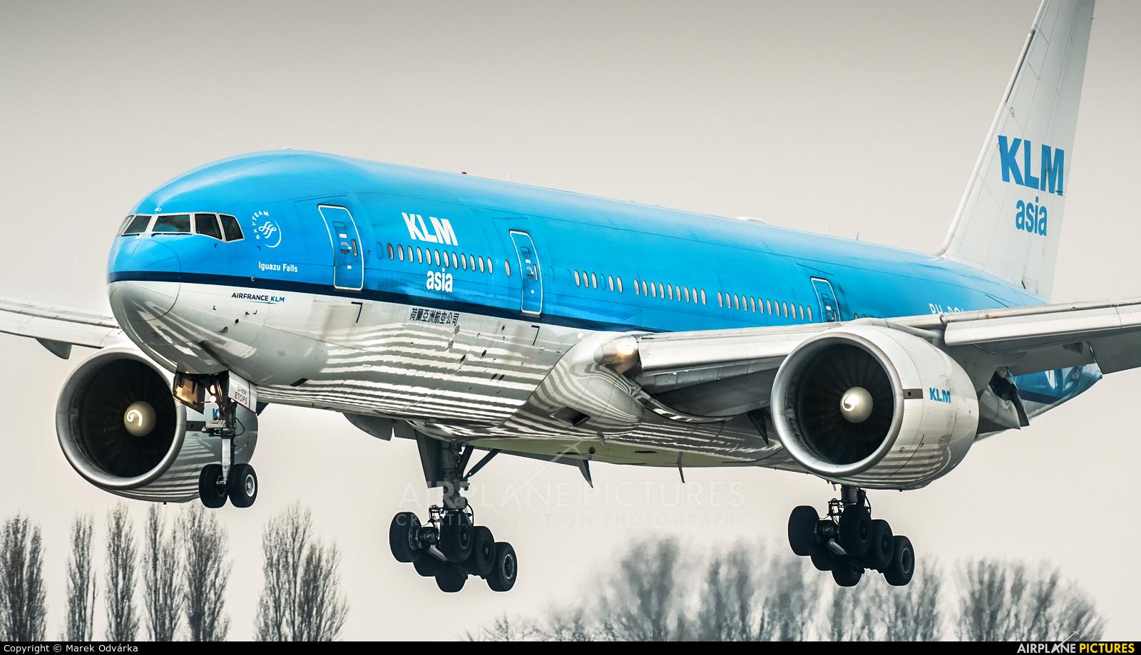 KLM Asia PH-BQI aircraft at Amsterdam - Schiphol
