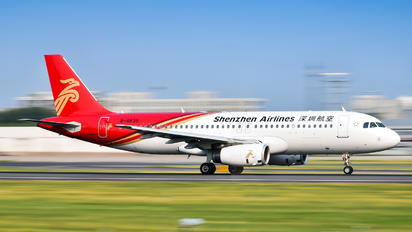 B-6835 - Shenzhen Airlines Airbus A320