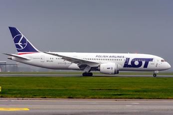 SP-LRG - LOT - Polish Airlines Boeing 787-8 Dreamliner