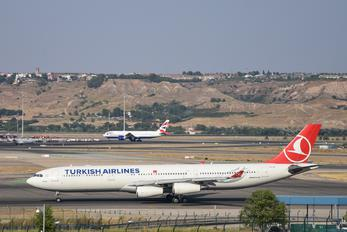 TC-JII - Turkish Airlines Airbus A340-300
