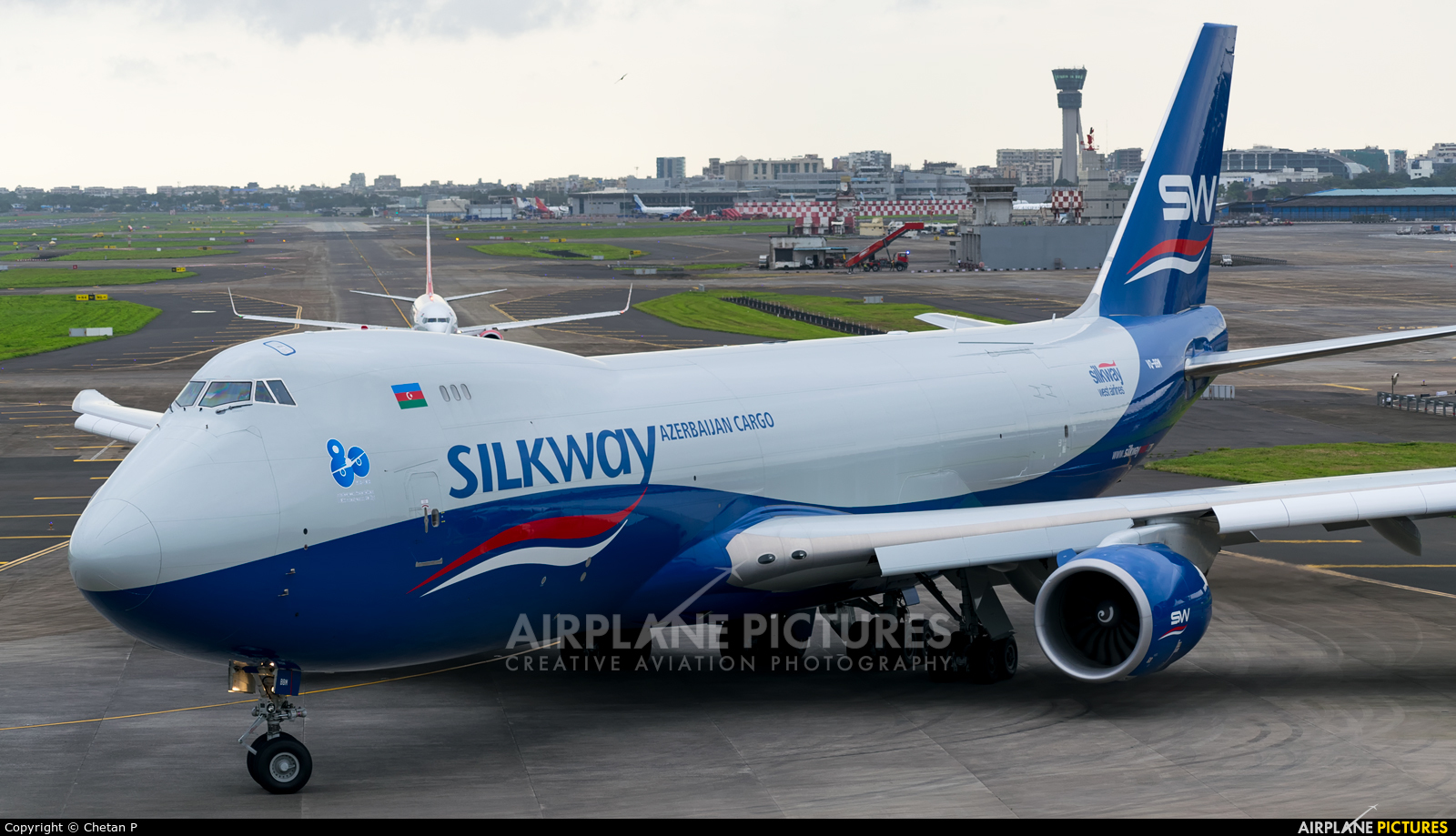 Silk Way Airlines VQ-BBM aircraft at Mumbai - Chhatrapati Shivaji Intl