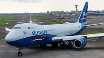 VQ-BBM - Silk Way Airlines Boeing 747-8F aircraft