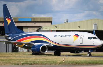 N446SR - West Atlantic Boeing 737-800