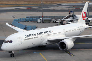 JA864J - JAL - Japan Airlines Boeing 787-9 Dreamliner