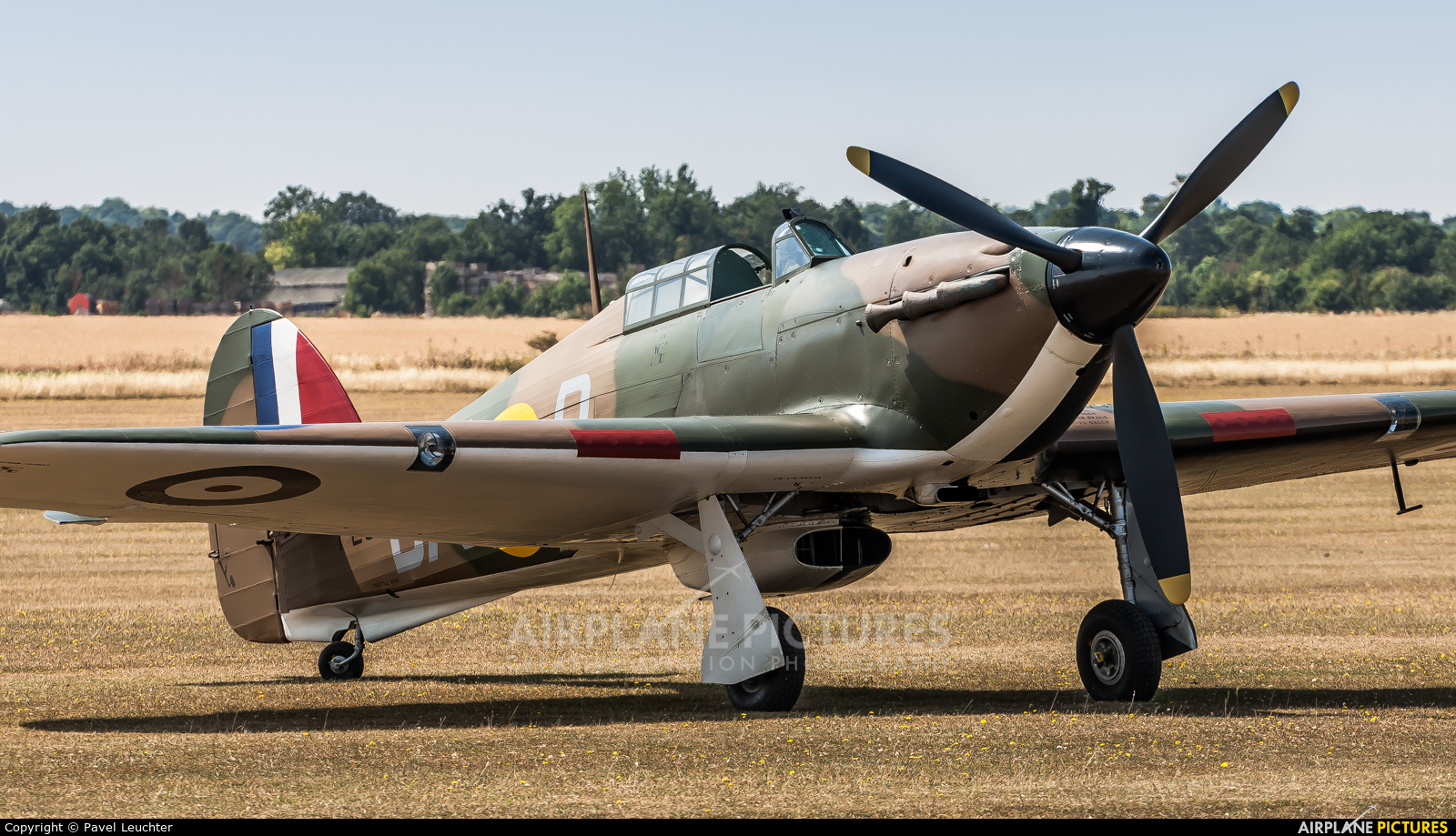 Private P2902 aircraft at Duxford
