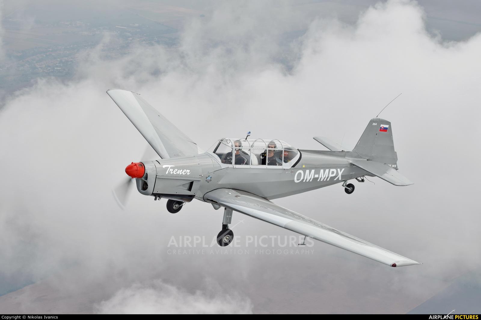 Aeroklub Nové Zámky OM-MPX aircraft at Nové Zámky