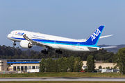 ANA Boeing 787-9 visited Porto for the first time title=