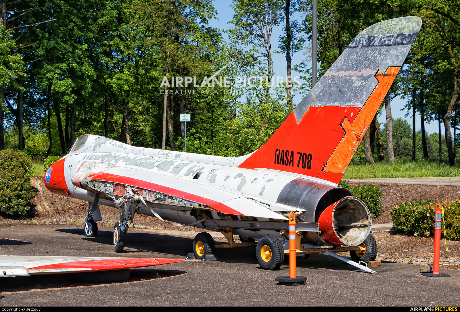 NASA 139208 aircraft at McMinnville - Evergreen Aviation & Space Museum