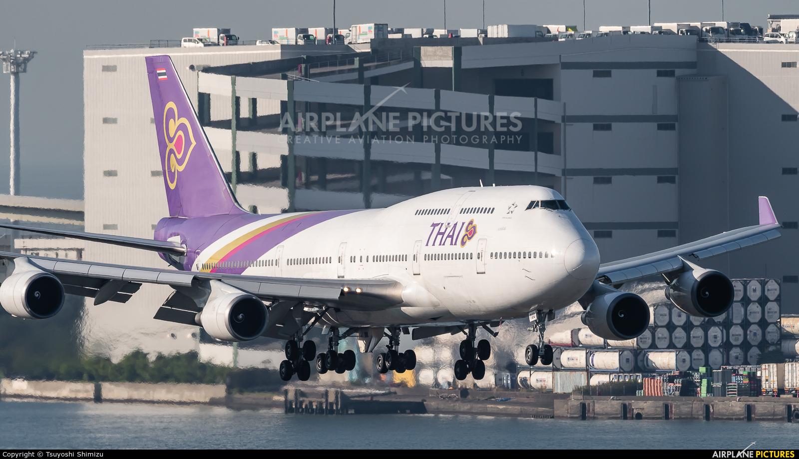 Thai Airways HS-TGO aircraft at Tokyo - Haneda Intl