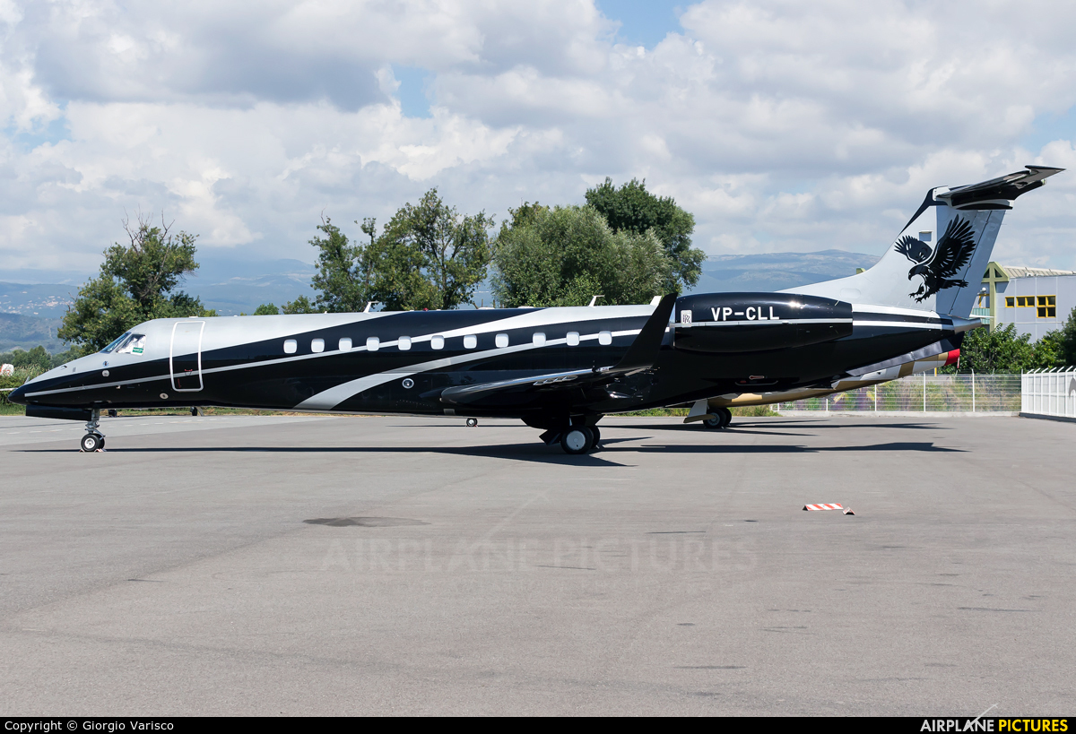 Private VP-CLL aircraft at Cannes - Mandelieu