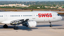 HB-IOD - Swiss Airbus A321 aircraft