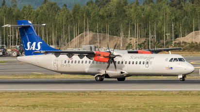 ES-ATD - SAS - Scandinavian Airlines ATR 72 (all models)
