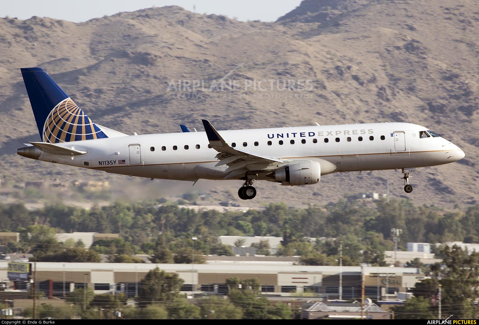 United Express N113SY aircraft at Phoenix - Sky Harbor Intl